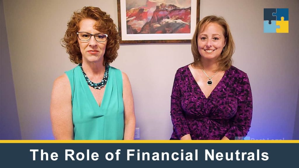 The Role of a Financial Neutral in Collaborative Law
