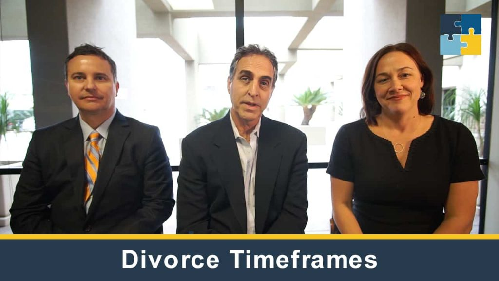 Divorce Timeframes