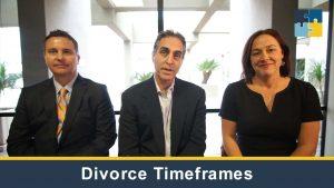 Divorce Timeframes