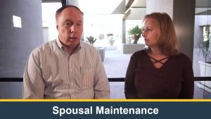 Spousal Maintenance