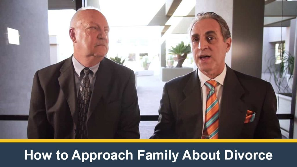 How to Approach Family About Divorce