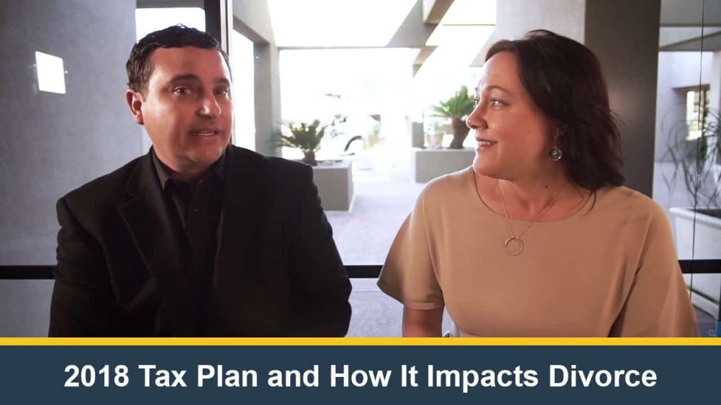 2018 Tax Plan and How It Impacts Divorce