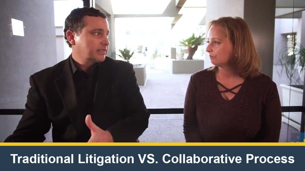 Traditional Litigation VS. Collaborative Process