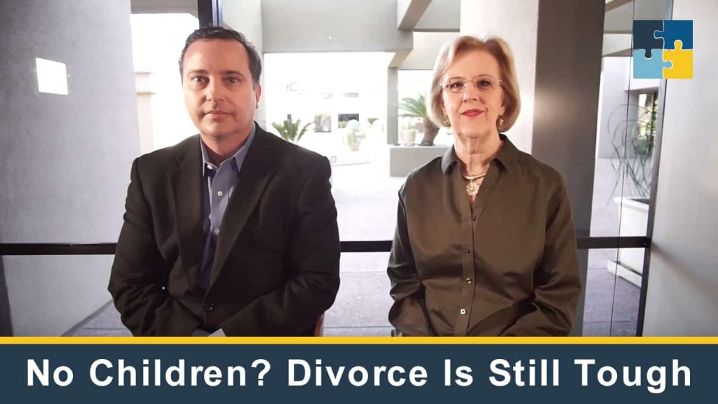 No Children? Divorce Is Still Tough