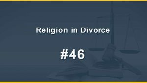 Religion in Divorce